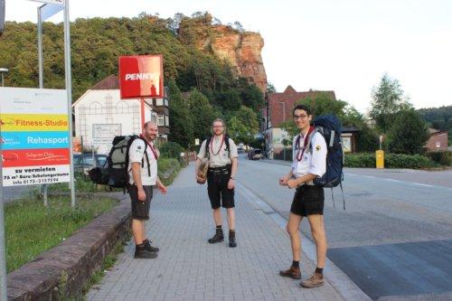 Audacia Fahrt Pfalz - Juli 2014