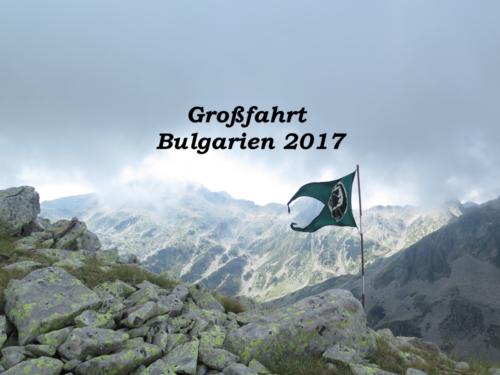 2017 Großfahrt Bulgarien
